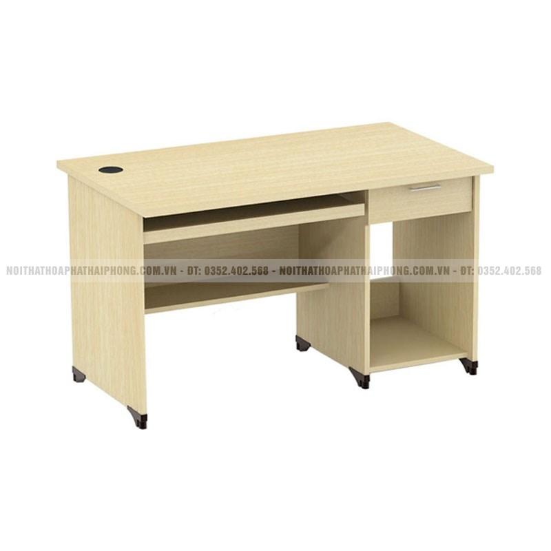 Bàn máy tính khung gỗ Hòa Phát AT202