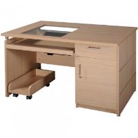 Bàn máy tính khung gỗ Hòa Phát HRM120